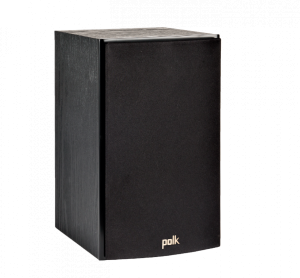 Polk Audio T15 Home Theater and Music Bookshelf Speaker(black)(pair)