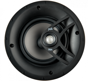 Polk Audio V60 Vanishing V Series High Performance In-Ceiling Speaker(each)