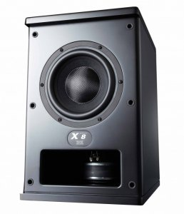 M&K Sound X8 Subwoofer(black)(each)
