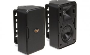 "Klipsch CP-4T 3-1/2"" weather-resistant 2-way speakers (black)(pair)"