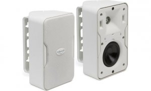"Klipsch CP-4T 3-1/2"" weather-resistant 2-way speakers (white)(pair)"