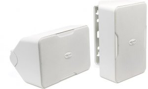 "Klipsch CP-6T 5-1/4"" weather-resistant 2-way speakers (white)(pair)"