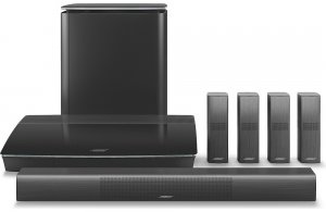 Bose Lifestyle 650 home entertainment system (black)