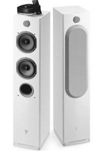 Focal Easya Wireless floor-standing powered speakers with Bluetooth (white)(pair)