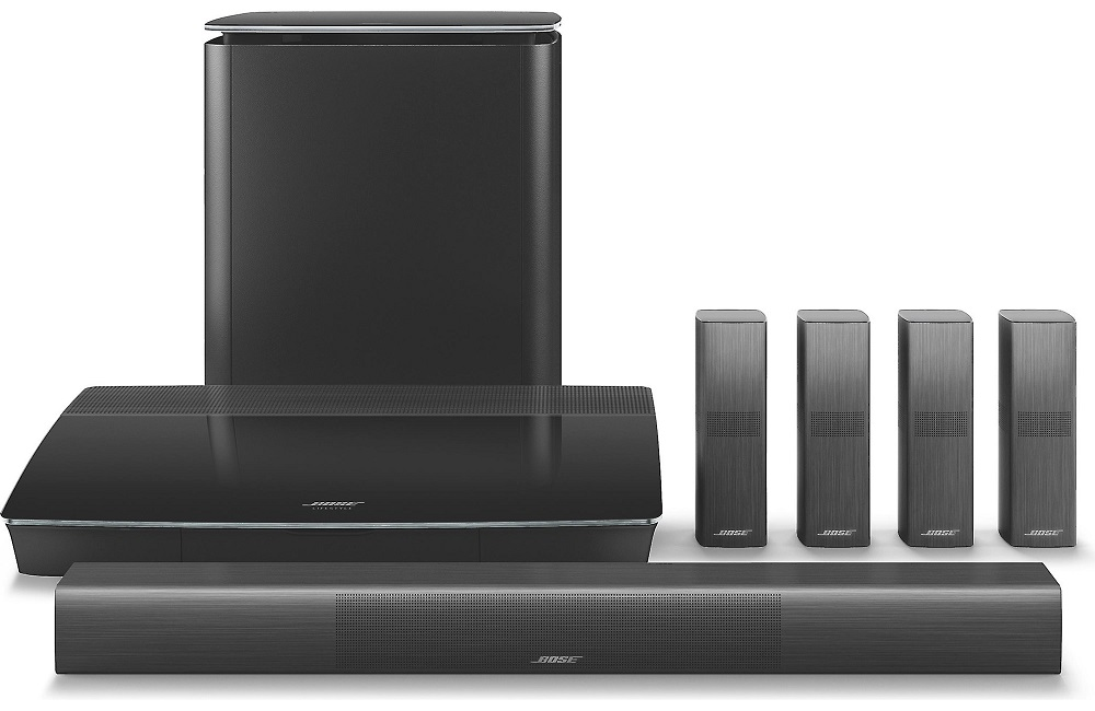 Bose Lifestyle 650 home theater system(black)(sys) - Click Image to Close