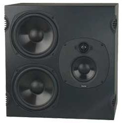 Boston Acoustics BT2 3-Way LCR Speaker with Dual 8-Inch Cast Neo Magnet Woofers