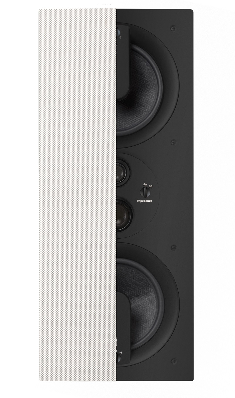 klipsch in wall speakers. klipsch pro-6602-w in-wall speaker (each) in wall speakers
