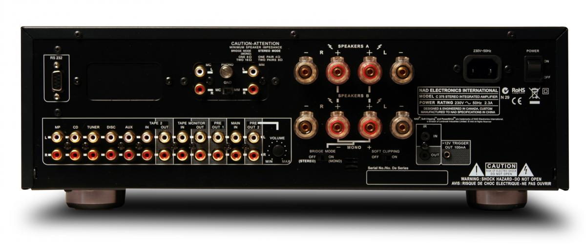 nad c 375bee integrated amplifier each nad c 375bee integrated amplifier each it 39 s free. Black Bedroom Furniture Sets. Home Design Ideas