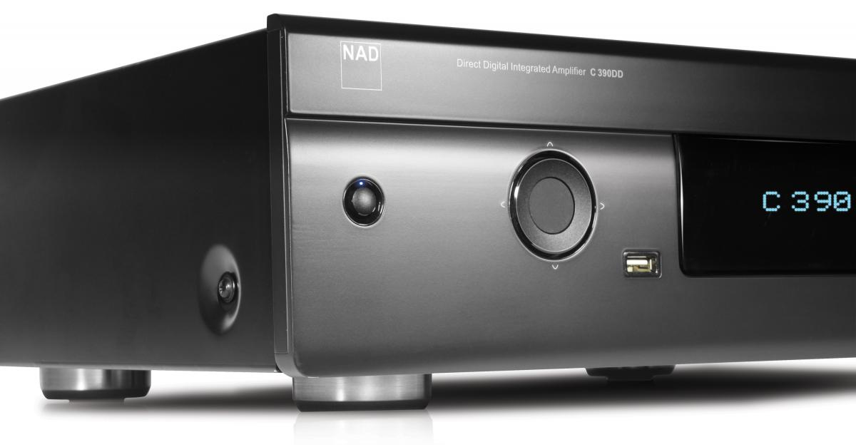NAD C 390DD Direct Digital Powered DAC Amplifier (each) NAD